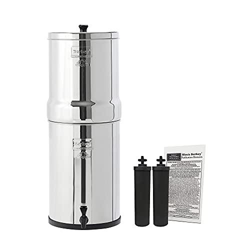 Berkey Crn8x2-BB Couronne en acier inoxydable avec 2 filtres...