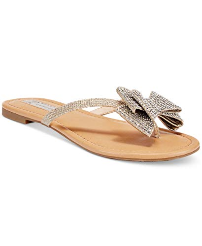Price comparison product image INC International Concepts Womens Mabae Open Toe Casual,  Champagne,  Size 7.5