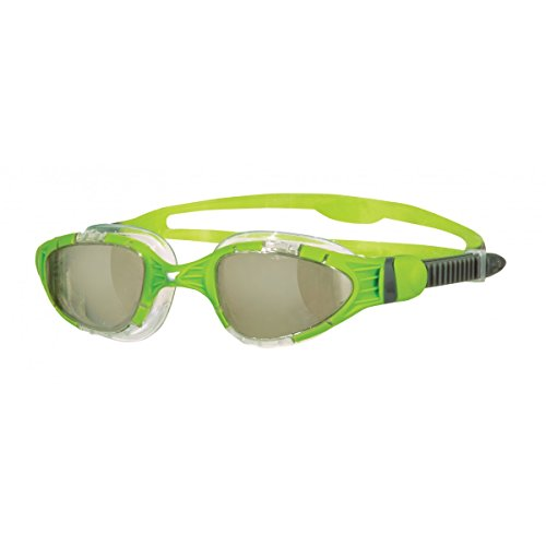 Zoggs Aqua Flex Titanium Gafas de natación, Hombre, Amarillo, Talla Única