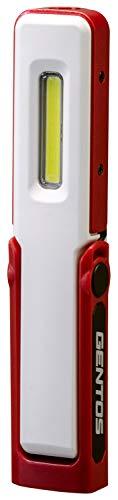 GENTOS(ジェントス) 作業灯 LED ワークライト ハンディタイプ USB充電式 【明るさ150ルーメン/実用点灯2.5時間/耐塵/耐水】 ガンツ GZ-011 ANSI規格準拠