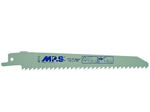 Lames pour scie sabre HSS bi-métal 300 mm 6 dpp 2 St