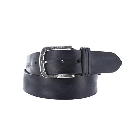 Lederen jeans riem | 40 mm Breed