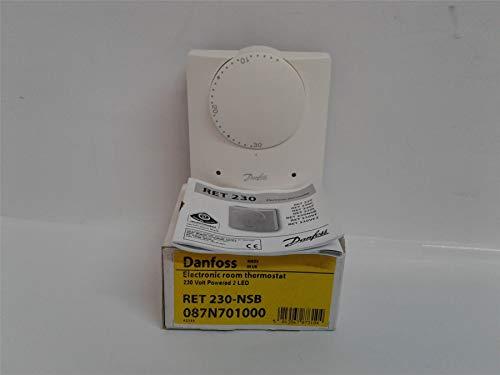 Danfoss Ret 230 NSB 087N701000 - Termostato para habitación