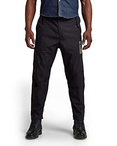 G-STAR RAW Utility Relaxed Poplin Trainer Pantaloni Sportivi, Dk Black A790-6484, 30W Uomo