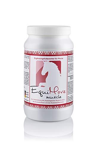 EquiMove Muscle, tierärztliches Ergänzungsfuttermittel für den Muskelaufbau, 1er Pack (1 x 1,5 kg)