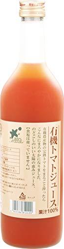 ビオマーケット ビオマルシェ 有機 トマトジュース 720ml