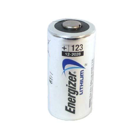 25 pcs Energizer Lithium CR123A 3V Photo Lithium Battery