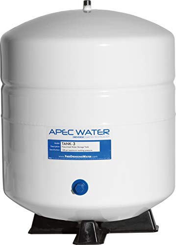 APEC Water Systems TANK-3 3 Gallon Residential Pre-Pressurized Reverse Osmosis Water Storage Tank Maine