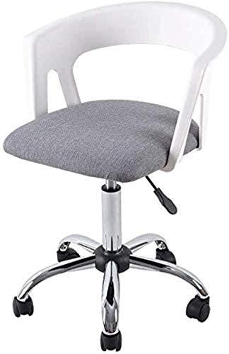 XUANFEI Silla de Oficina Silla de la computadora Silla de Oficina Silla de la elevación de Escritorio de Nuevo Presidente de la Conferencia for sillas de Ruedas Silla Ajustable (Color : White)