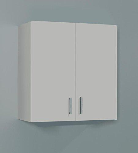 SERMAHOME- Armario Multiusos Auxiliar para Colgar. 2 Puertas. Color Blanco. Medidas: 59 x 60 x 26 cm