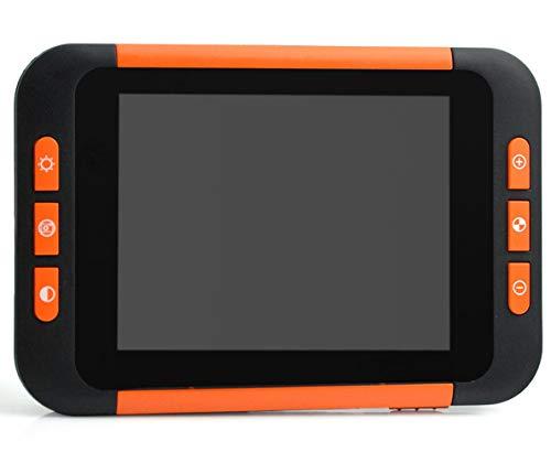 Lupa digital de bolsillo portátil, pantalla LCD de 3,5 pulgadas, 2-32X, dispositivo de ayuda a lectura de baja visión