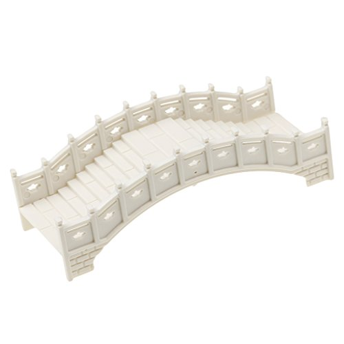 Tuinbeelden & Sculpturen - Plastic Zand Tafelpark Retro Bridge Scene Model Tuin Decor Ambachten Mold - Cake Retro Pavement Trikini Cypress Retro Teken Outdoor Decor Mold Zen Mold Rainbo