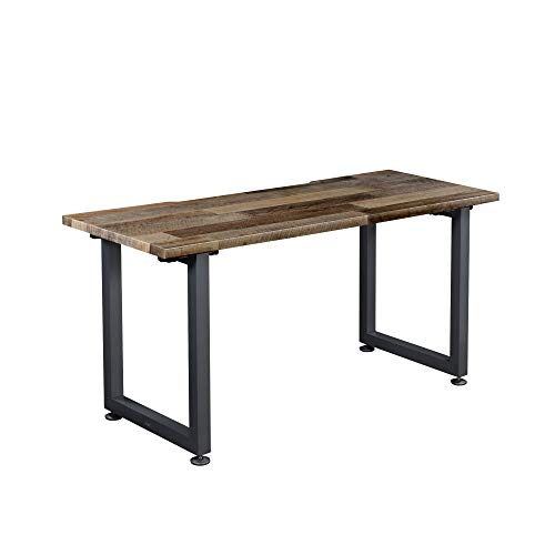 Vari Table (60x30) - Computer Desk with Durable Finish & Built-in Cable Management Tray - Use as Standalone Workstation or Side Table - Work or Home Office Furniture - (Reclaimed Wood)