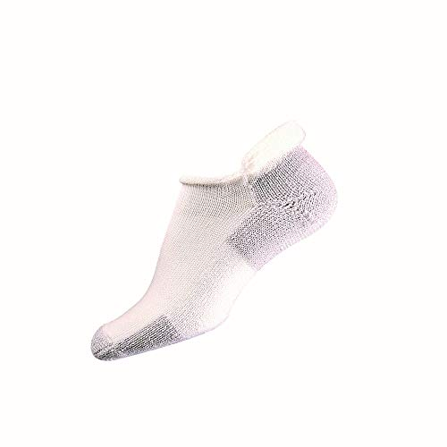 Thorlos Unisex Laufsocken Medium White/Platnum