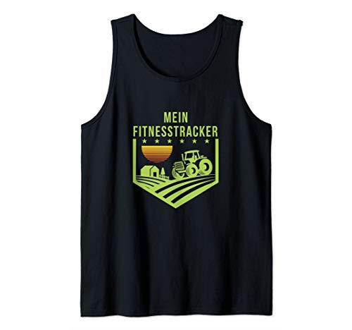 Mein Fitnesstracker - Geschenk für Bauern und Landwirte Tank Top