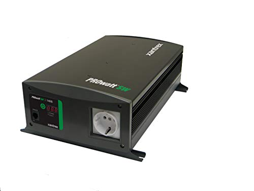 Xantrex PROwatt swi Wechselrichter Dauerleistung 1400W Spitzenleistung 2800W Schuko AC/DC Spannungswandler 230V Sinuswelle Wandler Inverter