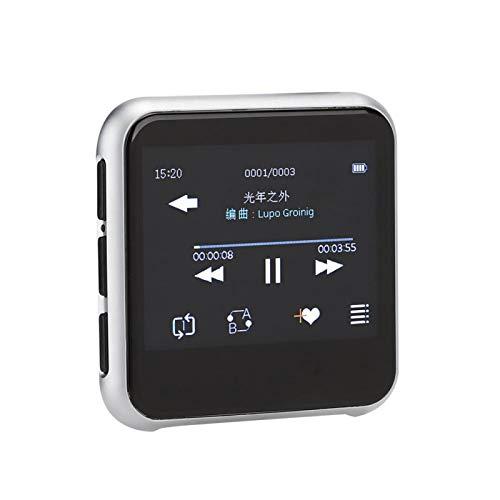ASHATA MP3-Player, MP3-Player mit Bluetooth 5.0 2.3 Zoll 320x240 TFT Voll-Touchscreen Bluetooth 5.0 Musik-Player, HiFi Lossless Sound Musik-Player zum Laufen(32G)