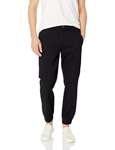 Amazon Essentials Men's Slim-Fit Jogger Pant, Black, X-Large