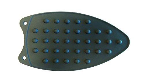 MSV strijkijzeren plank 27 x 14,5 cm silicone strijkijzeronderlegger - tot 250 °C hittebestendig, antislip, onderhoudsvriendelijk