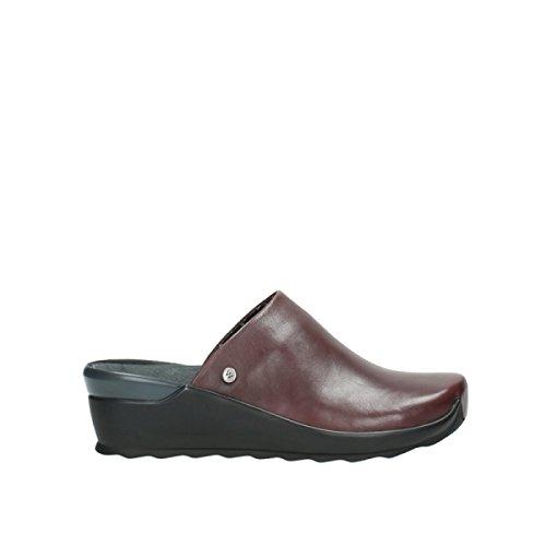 Wolky Comfort Clogs Go - 20510 Bordeaux Leder - 37