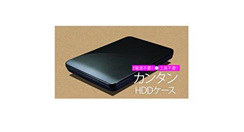 玄人志向SSD/HDDケース2.5型USB3.0接続ACアダプター不要/ネジ止め不要のスライド式GW2.5CR-U3