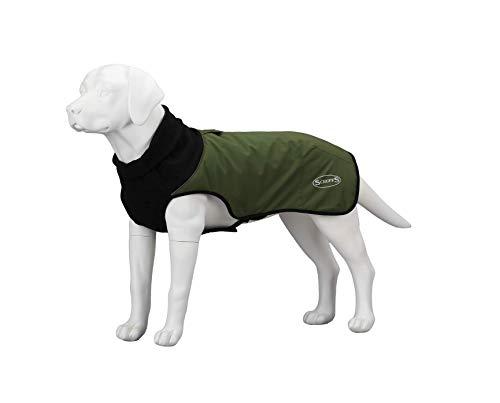 Scruffs Hundemantel, gesteppt, Thermisch, 30 cm, XS, Schnittlauch, 150 g