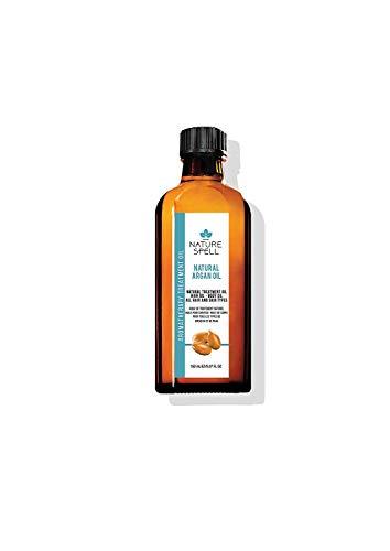 Nature Spell Marokkanisches Argan-Behandlungsöl für Haar und Körper, 150 ml, reduziert Haarbruch und Spliss für Ihr Haar, hilft das Auftreten von Altersflecken und...