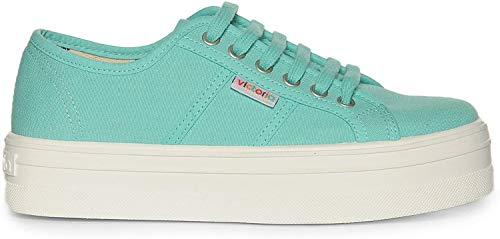 Victoria - Zapatillas para Hombre, Color (Bleu Agua), Talla 39