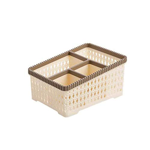 ZYING Storage Box-Makeup Organizer Tray Brush Holder Cosmetic Display Case Storage Box for Vanity Countertop Bathroom (Color : A)