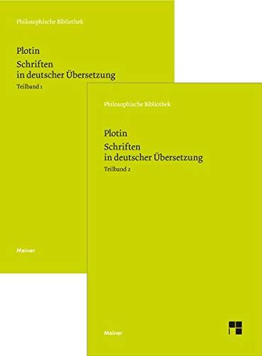 Schriften in deutscher Übersetzung: Die Schriften 1–54 der chronologischen Reihenfolge (Philosophische Bibliothek)