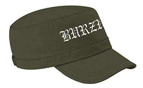 Burzum 'Logo' (Verde) Gorra del ejército