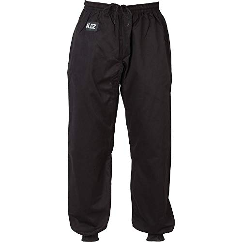 Blitz Unisex's Kung Fu Trousers, Black, 4/170cm