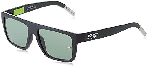 Tommy Hilfiger tj 0004/s, gafas de sol Unisex Adulto, opaco neo verde, 54
