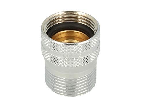 tecuro -56505- Messing-Schlauchplatzsicherung für Wasch-, Spülmaschinenschläuche