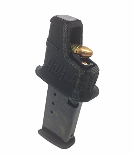 Hilljak Magazine Speed Loader for Sig P938 P239 P210 Ruger LC9, LC9S, EC9; Walther PPS CCP; Kahr K820 K920 CM9; Taurus G2S PT 709; Hi-Point C9 CF380 995; Kel-Tec PF-9 9mm Single-Stack Magazines QL9SS