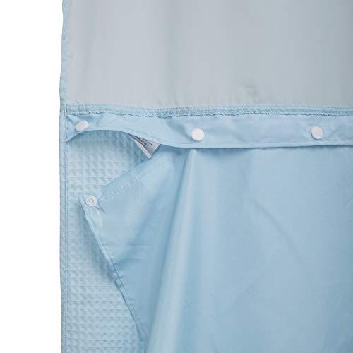 Barossa Design Snap In Liner für Duschvorhang 70