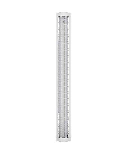 Osram LED Büro-Lichtleiste, Leuchte für Innenanwendungen, Kaltweiß, Klick-Dim über Wandschalter, Länge: 120 cm, LED Office Line Grid
