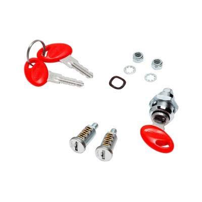 203134r1 - Kit Recambio de 3 cerraduras para baul y Maletas Laterales SP Standard Lock sys