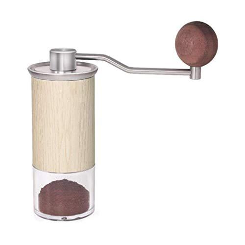 MAIZOU Koffiemolen handmatige mini hand koffiemolen kleine molen koffiemachine dikte verstelbare gemakkelijk te dragen kan worden gebruikt in café westelijke restaurant bar