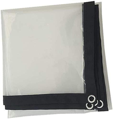 Toldo Clear Tarpaulin Claro cubierta impermeable Tarp, a prueba de polvo a prueba de lluvia Hoja de lona hoja de tierra cubiertas anti-envejecimiento aislamiento de PE for Mobiliario exterior de Coche