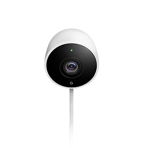 Google Nest Cam Outdoor Smart Security Camera, White