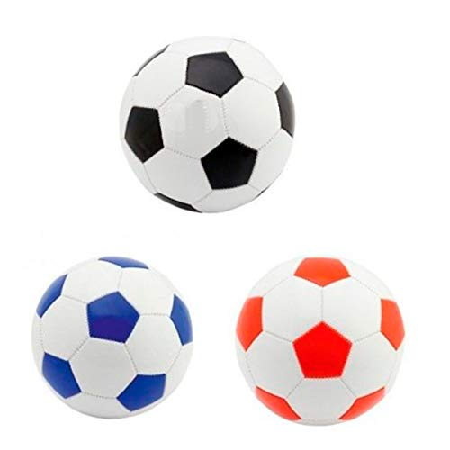 DISOK Lote de 15 Balones de Fútbol Pelotas Tamaño FIFA 5. 280 gr - Detalles y Regalos para niños, colegios, Comuniones
