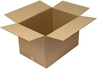 Faltkarton aus Wellpappe, 2-wellig, braun, Abm (LxBxH)  650x460x430mm,C2,Qual. 2.30BC, 10 Stück B07CL5WXPN  eine große Vielfalt von Waren