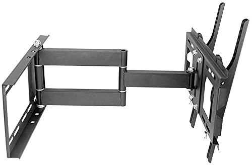 Lzpzz Soporte de Montaje en Pared de TV con Brazo articulado Giratorio Adecuado para la mayoría de 40-55 en Soporte máximo VESA500x400mm 35kg TV Monitor Stand