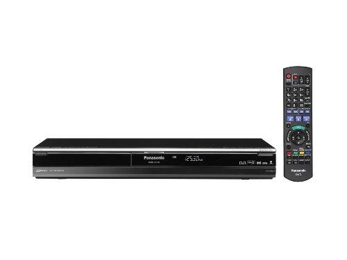 Panasonic DMR XS350EGK DVD und Festplatten Rekorder 250 GB HDMI Upscaler 1080p DivX zertifiziert USB 20 mit zwei integrierten DVB SS2 Tunern schwarz