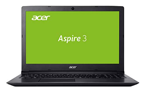 Acer Aspire 3 (A315-53-583N) 39,6cm (15,6 Zoll Full-HD matt) Multimedia Notebook (Intel Core i5-8250U, 8 GB RAM, 256 GB SSD, Intel UHD, Win 10) Schwarz