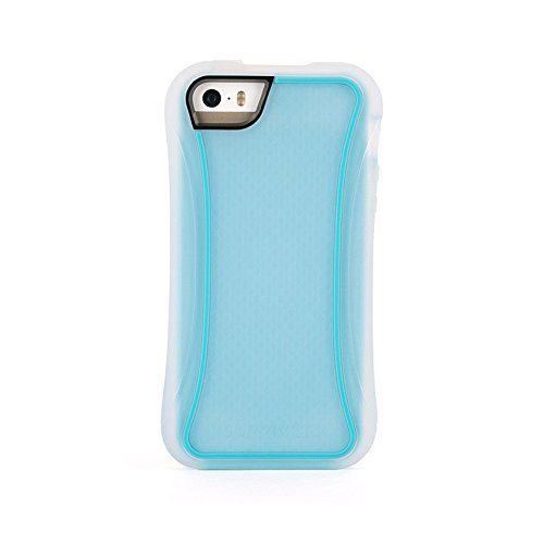 Griffin Survivor-Custodia sottile per iPhone 5/5S, colore: blu