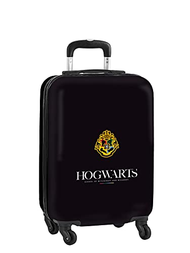 safta Trolley Cabina 20'' Maleta Ruedas y Candado de Seguridad de Harry Potter Hogwarts, 345x200x550 mm