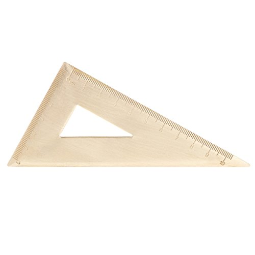 VIccoo Super Duurzame Messing Snelheid Driehoek Liniaal Set Vierkant Gereedschap Timmerman Clear Liniaal