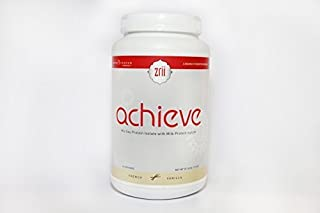 1x Zrii ACHIEVE Mix Soy Protein Isolate with Milk Protein Isolate French Vanilla ( 39.16 ounce ) by Zrii